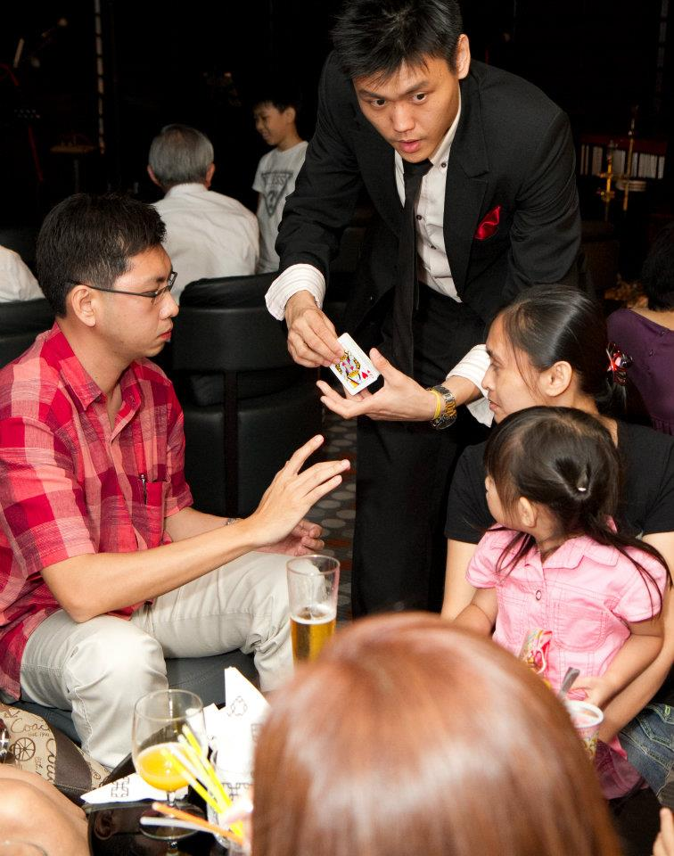 Charming Singapore Magician